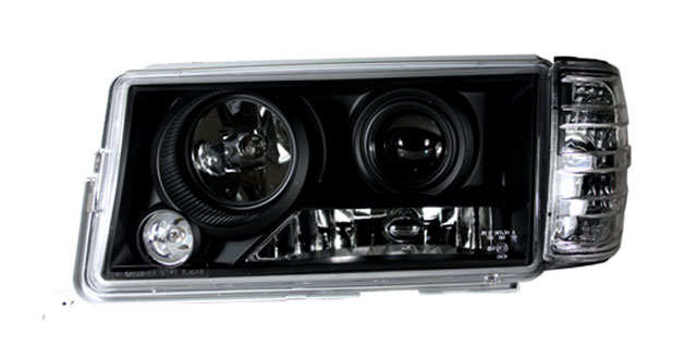 scheinwerfer klarglas projektor mercedes 190 w201 82 93. Black Bedroom Furniture Sets. Home Design Ideas