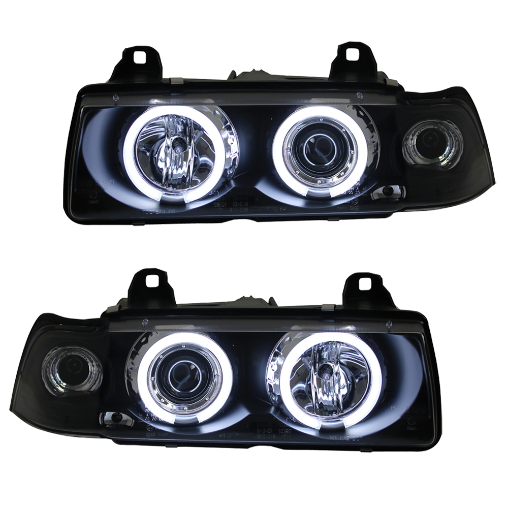 scheinwerfer angel eyes ccfl bmw e36 cabrio bj 93 99. Black Bedroom Furniture Sets. Home Design Ideas