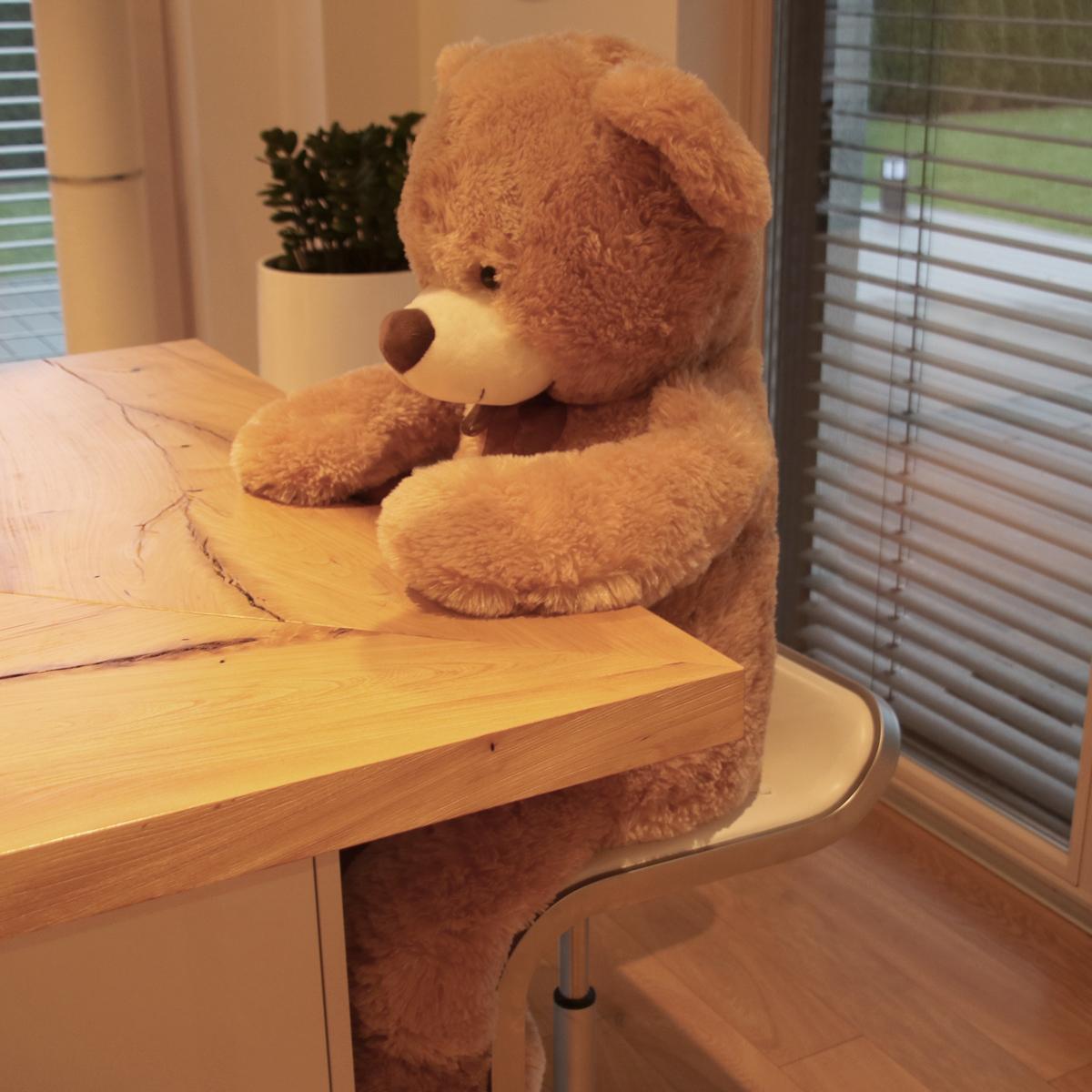 xxl teddyb r b r 1m gro kuscheltier teddy kuschelweich weihnachten 4053644324564 ebay. Black Bedroom Furniture Sets. Home Design Ideas