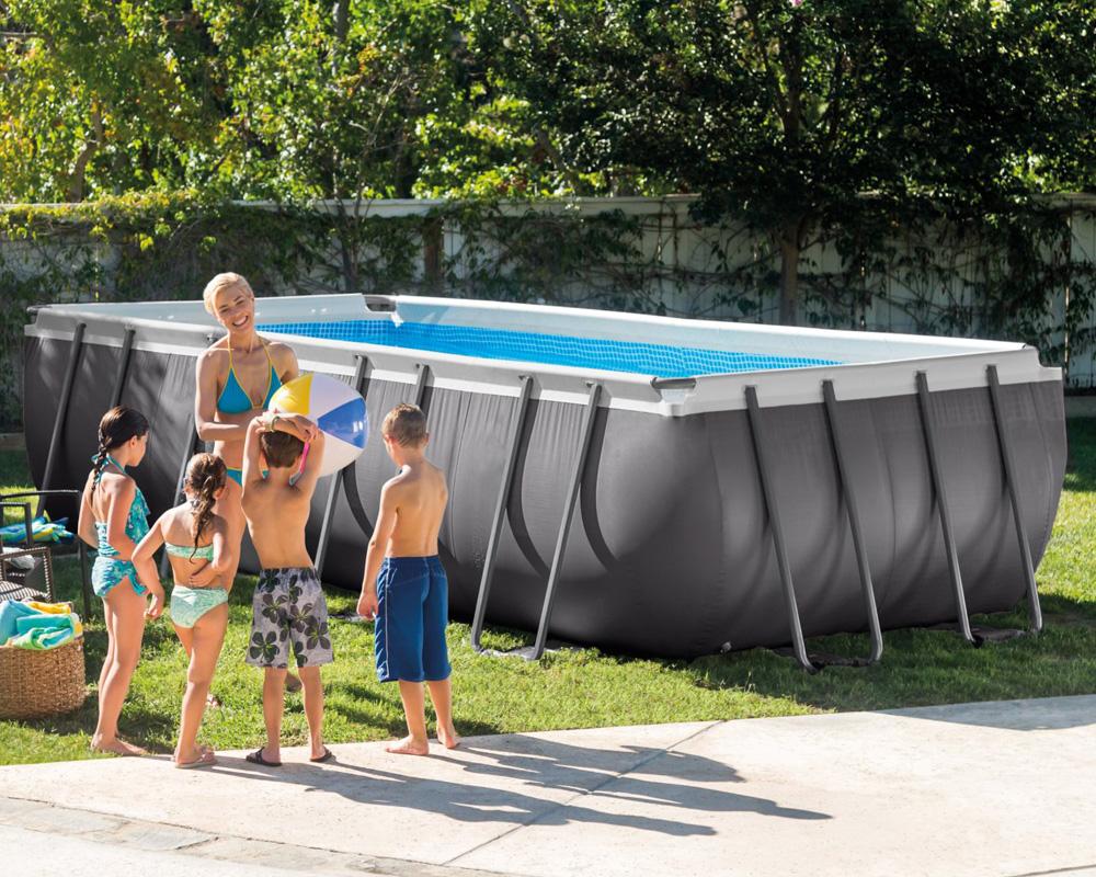intex komplettset frame pool 549x274x132cm sandfilteranlage swimmingpool ebay. Black Bedroom Furniture Sets. Home Design Ideas