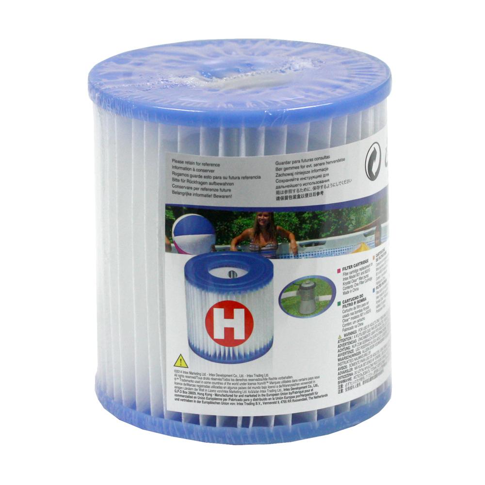 6 x intex filter filterkartusche ersatzfilter typ h 29007 f r pool pumpe ebay. Black Bedroom Furniture Sets. Home Design Ideas