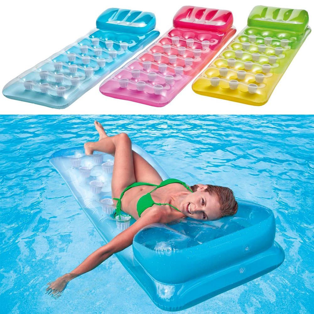 INTEX Lounge Luftmatratze Wasserliege Wasser Strand Matratze ...