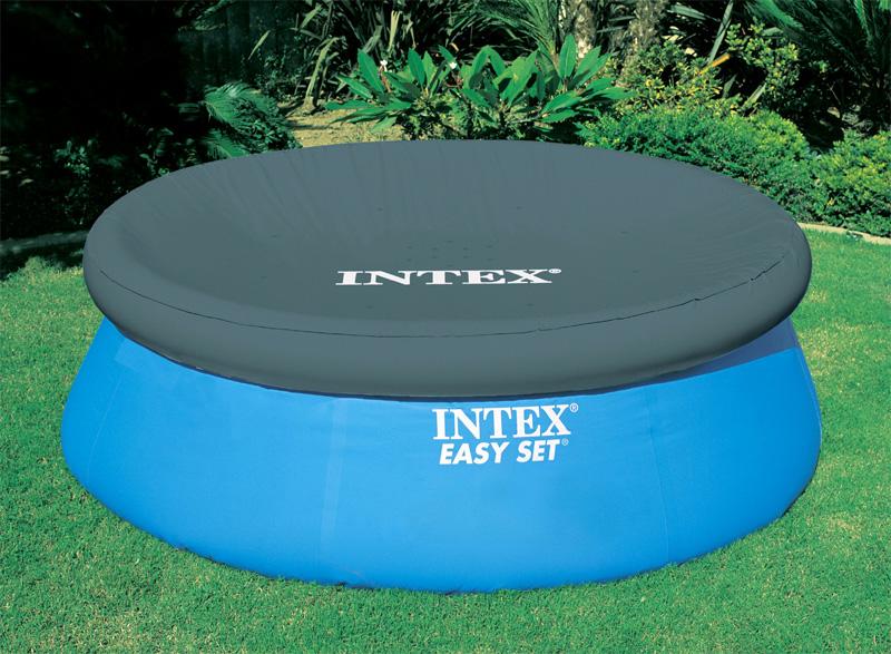 intex abdeckplane 457cm poolabdeckung easy pool abdeckung poolabdeckplane ebay. Black Bedroom Furniture Sets. Home Design Ideas