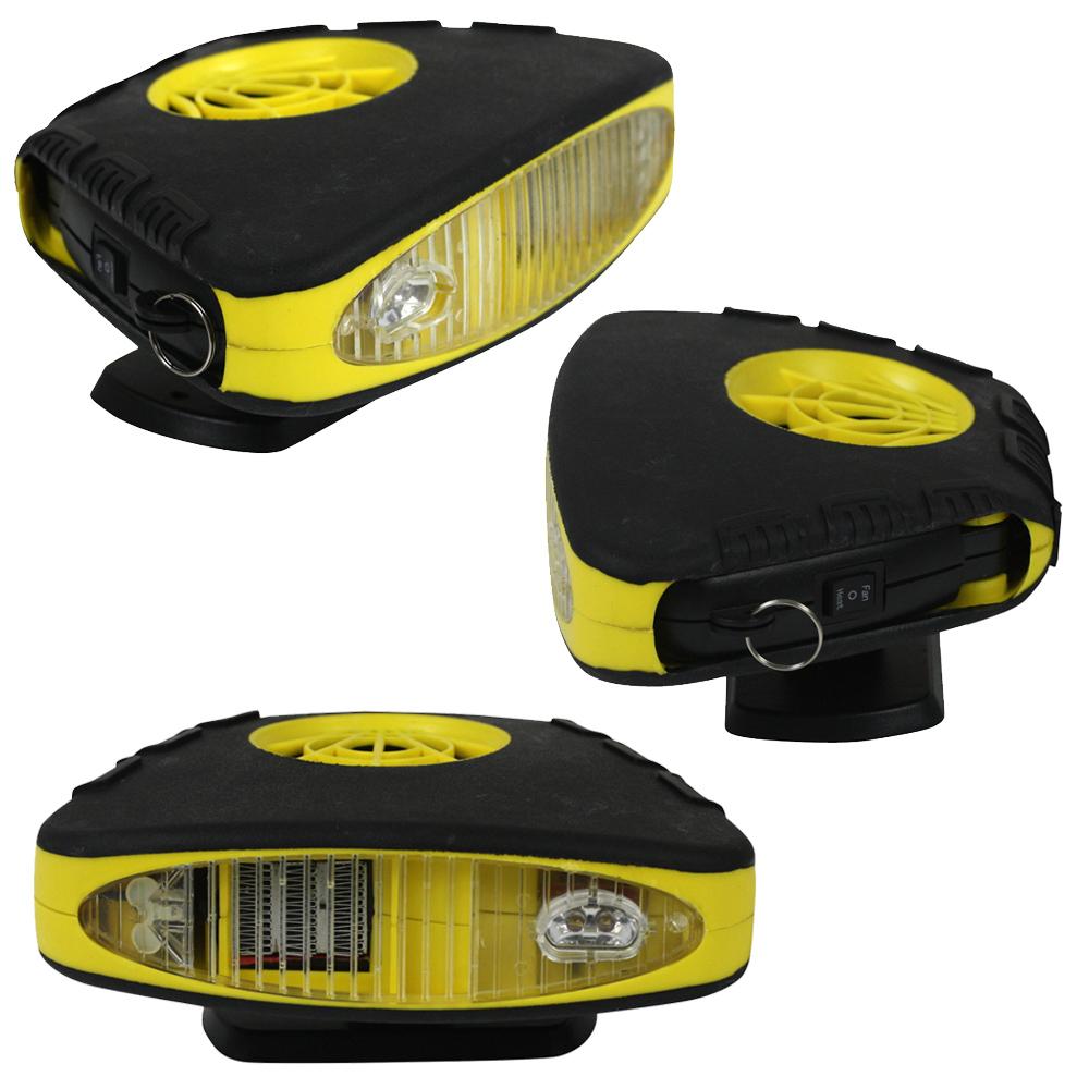 12v heizl fter auto kfz l fter heizung scheibenenteiser ventilator mit led licht ebay. Black Bedroom Furniture Sets. Home Design Ideas