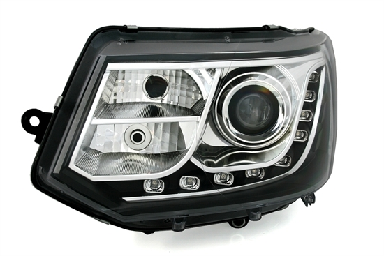 scheinwerfer drl led tagfahrlicht vw t5 multivan gp bj. Black Bedroom Furniture Sets. Home Design Ideas