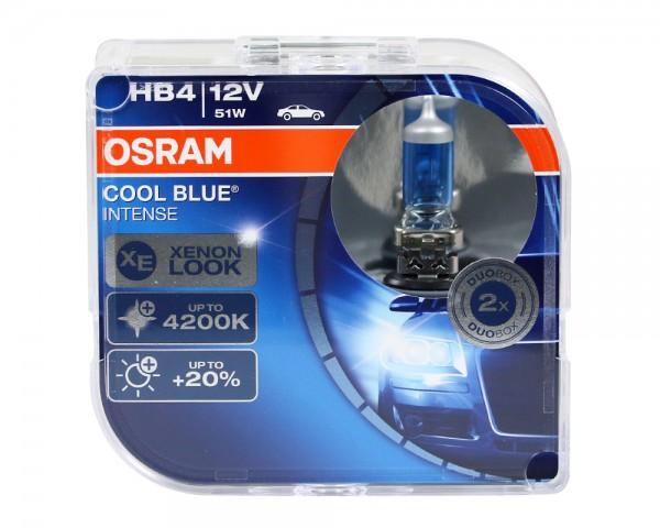 OSRAM Duo Box Glühlampe Cool Blue Intense HB4 51W