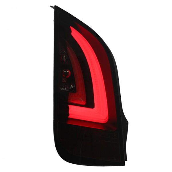 LED Lightbar Rückleuchten für Skoda Citigo für VW Up Bj. 11-15 Schwarz