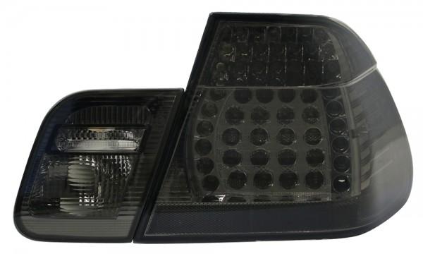 LED Rückleuchten BMW E46 Limo Bj. 98-01 Schwarz/Smoke