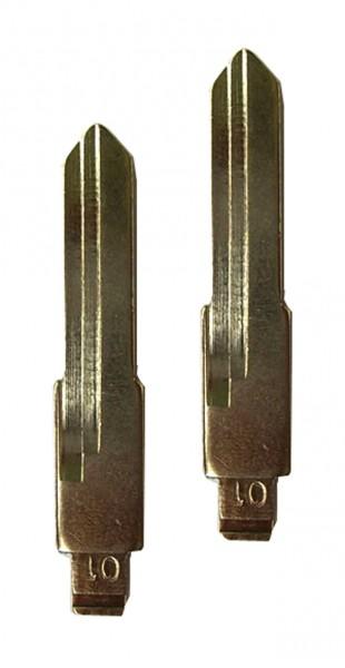 2 x Schlüsselrohling für VW Aussenbahn