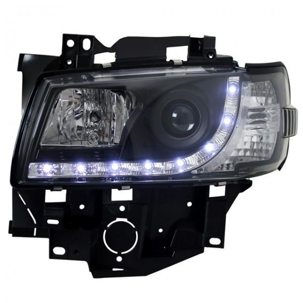 Scheinwerfer Tagfahrlicht Optik VW T4 Multivan 96-03 Schwarz