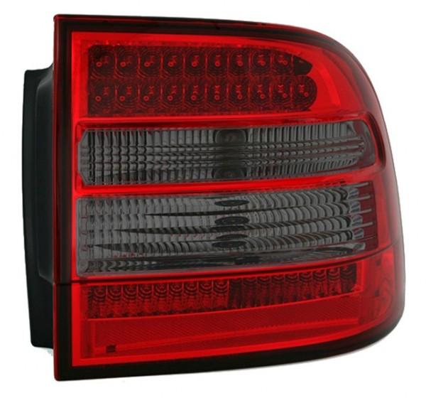 LED Rückleuchten für Porsche Cayenne Bj. 02-07 Rot/Smoke