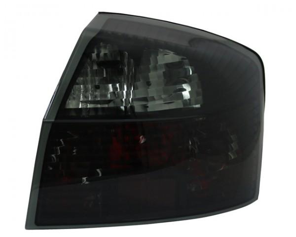 Rückleuchten Klarglas Audi A4 8E Limo Bj. 00-04 Schwarz