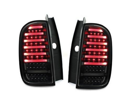 VOLL LED Lightbar Rückleuchten für Dacia Duster Bj. 09-17 Schwarz/Smoke