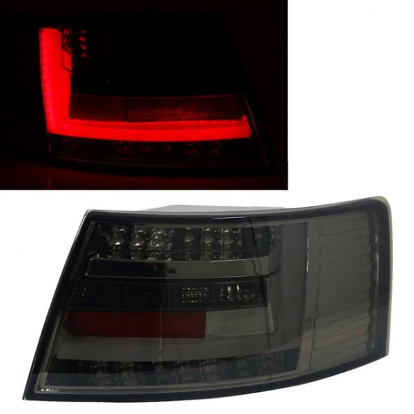 LED Lightbar Rückleuchten für Audi A6 4F Limo Bj. 04-08 Smoke 7-PIN