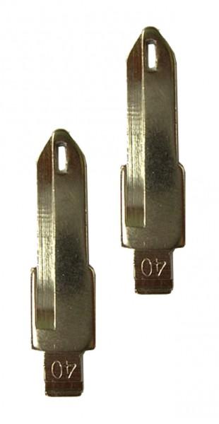 2 x Schlüsselrohling für Renault