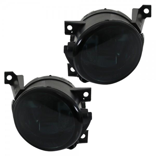 Klarglas Nebelscheinwerfer NSW für Beetle Caddy 3 Eos Golf VI Golf Plus Schwarz
