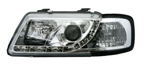 Scheinwerfer DRL Tagfahrlicht für Audi A3 8L Bj. 96-00 Chrom