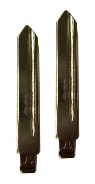 2 x Schlüsselrohling für Citroen