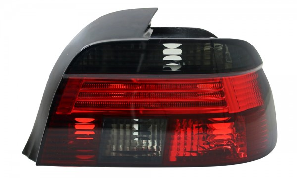 Rückleuchten Klarglas BMW E39 Limo Bj. 95-00 Rot/Schwarz