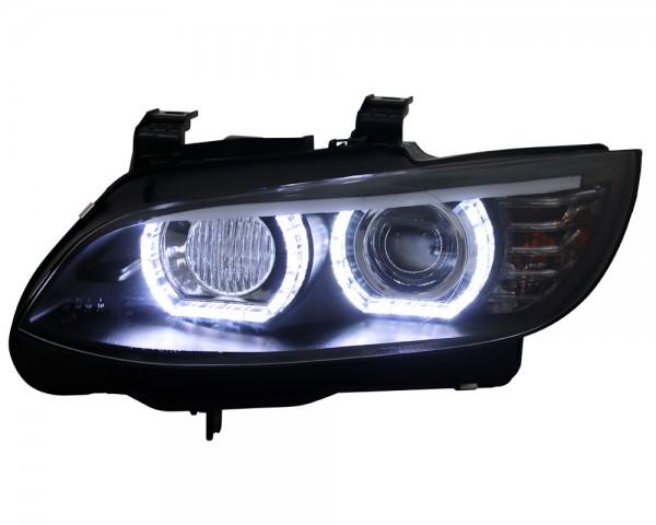 D1S Xenon Scheinwerfer LED Tagfahrlicht BMW E92 E93 mit AFS Bj. 05-10 Schwarz