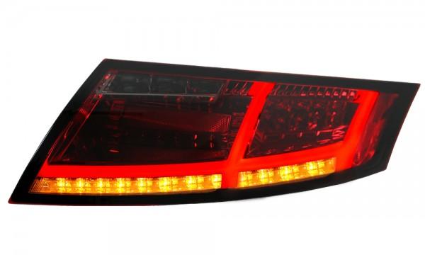 LED Rückleuchten Audi TT 8J Bj. 06-14 Rot/Smoke Dynamischer LED Blinker