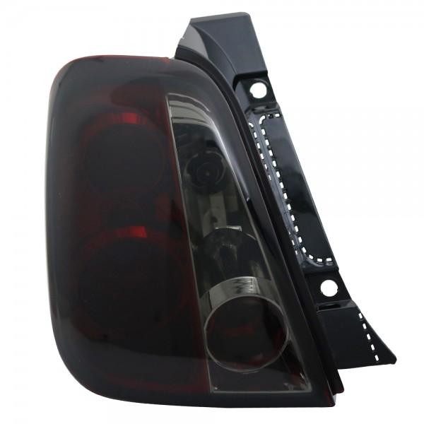 Rückleuchten für Fiat 500 500C Bj. 2007-2015 Rot Schwarz Smoke