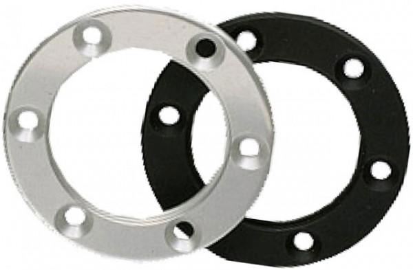 Alu Design Ring Schwarz für raid und raid hp Sportlenkräder