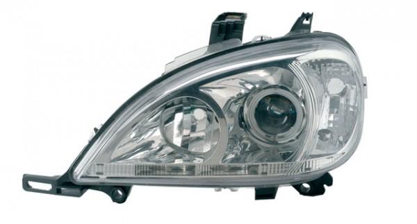 Scheinwerfer Angel Eyes CCFL für Mercedes ML W163 Bj. 98-01 Chrom