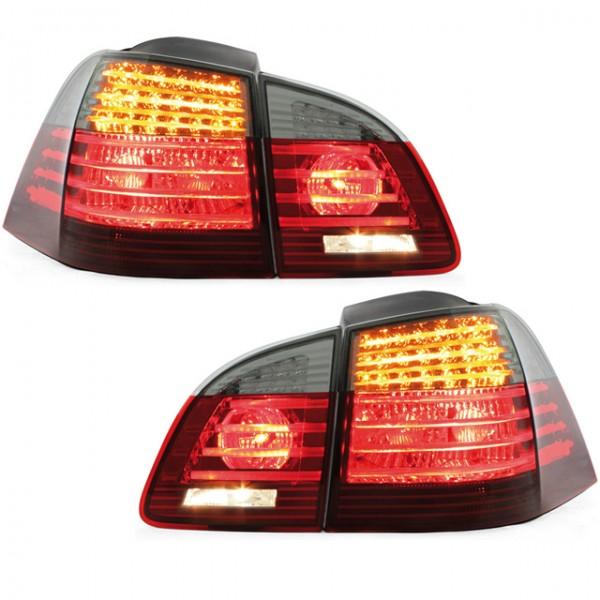 Bmw E61 Rückleuchten : led r ckleuchten bmw e61 touring bj 04 07 rot schwarz e61 bmw led light bar ~ Aude.kayakingforconservation.com Haus und Dekorationen