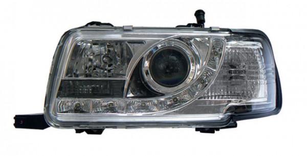 Scheinwerfer Tagfahrlicht Optik für Audi 80 B4 Bj. 91-94 Chrom