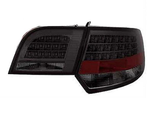 LED Rückleuchten für Audi A3 8P Sportback Bj. 03-08 Schwarz/Smoke
