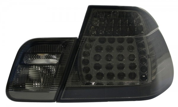 LED Rückleuchten BMW E46 Limo Bj. 01-05 Schwarz/Smoke