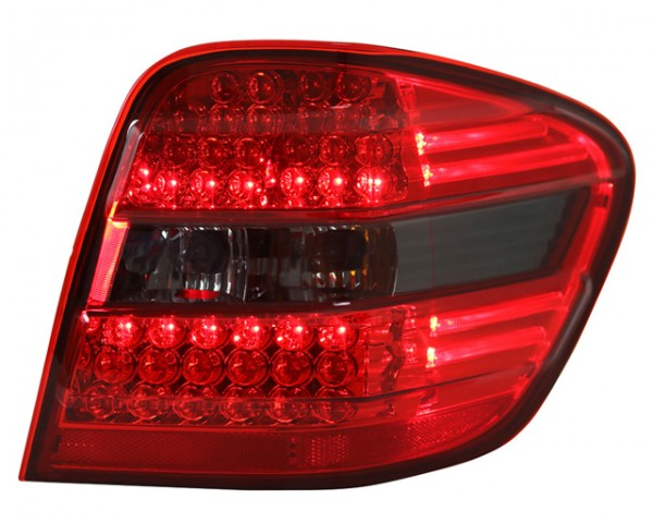 LED Rückleuchten für Mercedes W164 M-Klasse Bj. 05-08 Rot/Smoke