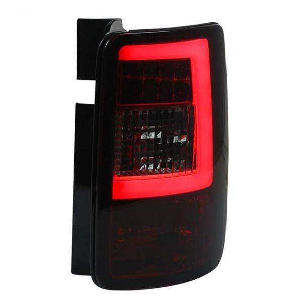 LED Lightbar Rückleuchten VW Caddy 3 III Bj. 2003-2015 Rot/Schwarz