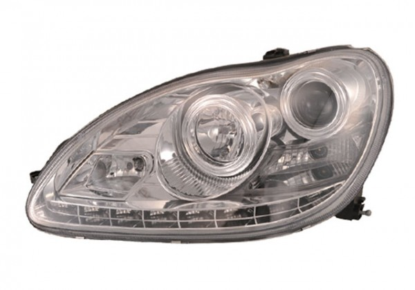 Xenon D2S Scheinwerfer TFL Optik Mercedes Benz W220 Chrom