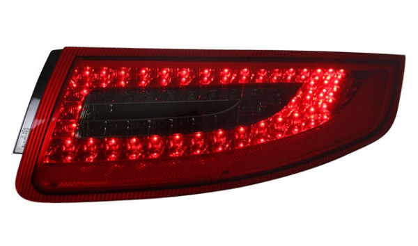 LED Rückleuchten für Porsche 911 997 Bj. 04-08 Rot/Schwarz