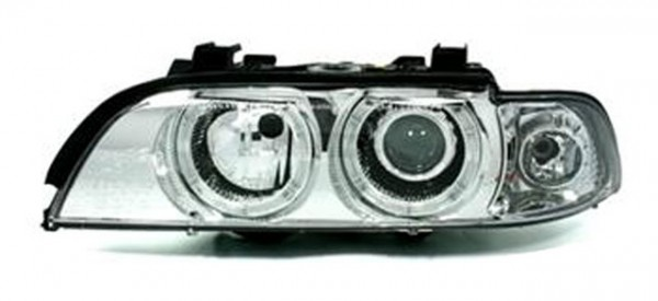 Scheinwerfer Angel Eyes BMW E39 Limo/Touring Bj. 95-00 Chrom