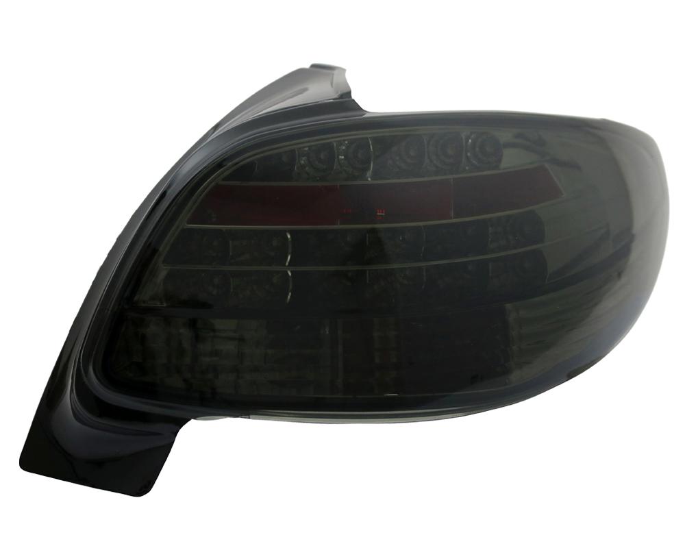 led r ckleuchten klarglas peugeot 206 limousine bj 98 06. Black Bedroom Furniture Sets. Home Design Ideas