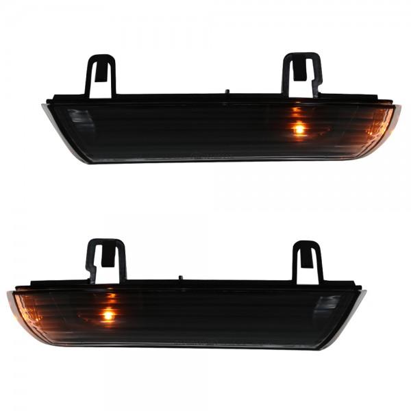 LED Spiegelblinker Schwarz für VW Jetta Typ 1KM Bj. 2005-
