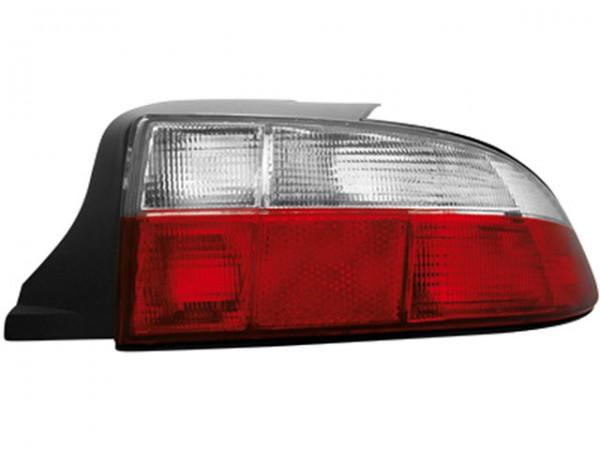 Rückleuchten Klarglas für BMW Z3 Roadster Bj. 96-99 Rot/Weiss