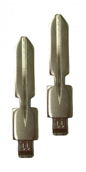 2 x Schlüsselrohling für Mercedes Benz E-Klasse