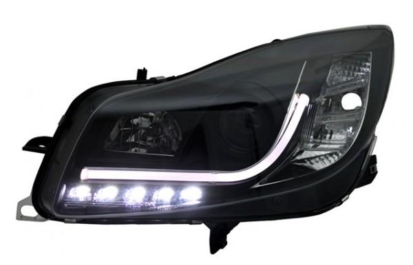 Scheinwerfer Light Tube Opel Insignia Bj. 08-13 Schwarz