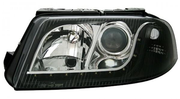 Scheinwerfer Tagfahrlicht Optik VW Passat 3BG Bj. 00-05 Schwarz