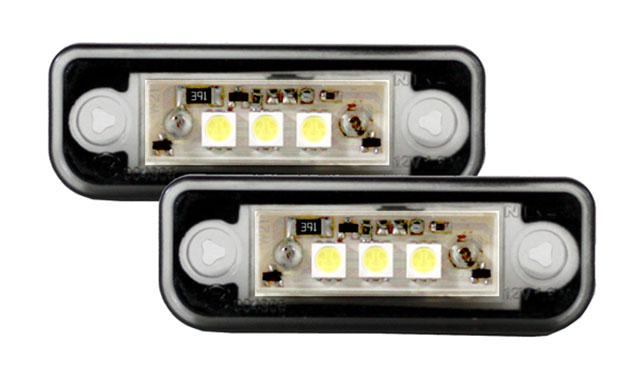 led kennzeichenbeleuchtung mercedes w203 kombi bj 00 07. Black Bedroom Furniture Sets. Home Design Ideas