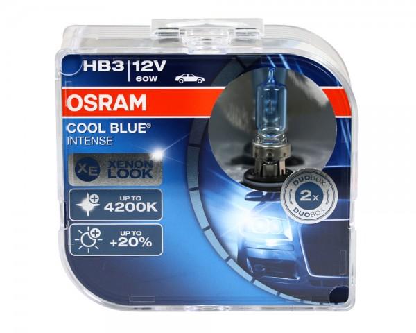 OSRAM Duo Box Glühlampe Cool Blue Intense HB3 60W