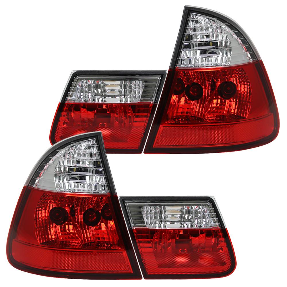 R 252 Ckleuchten Bmw E46 Touring Bj 99 05 Rot Chrom Limo