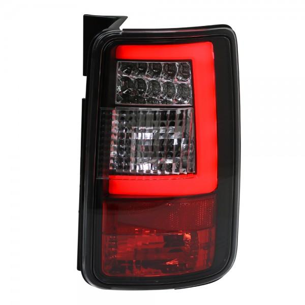 LED Lightbar Rückleuchten VW Caddy 3 III Bj. 2003-2015 Schwarz