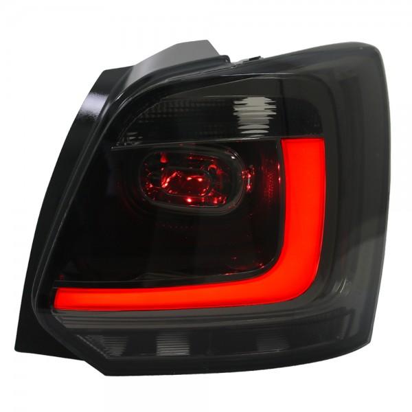 LED Lightbar Rückleuchten VW Polo 6R Bj. 2009-2014 Smoke