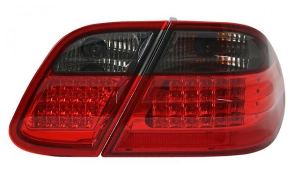 LED Rückleuchten Mercedes CLK W208 Bj. 97-02 Rot/Schwarz