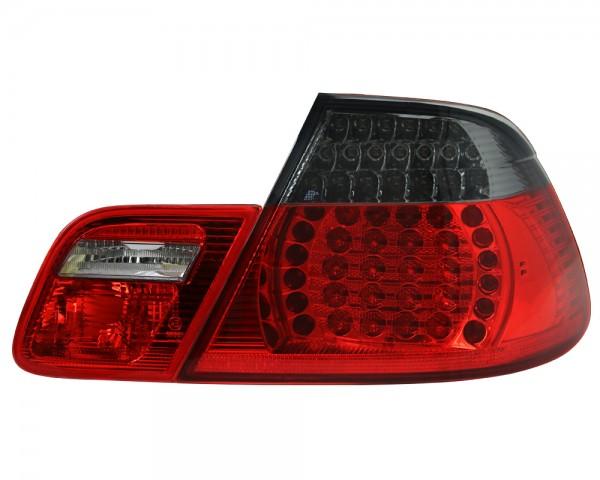 LED Rückleuchten BMW E46 Cabrio Bj. 00-07 Rot/Schwarz